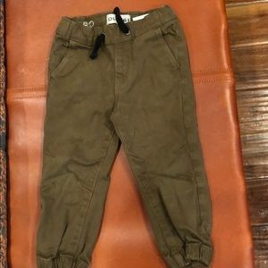 Cargo khaki pants for toddlers